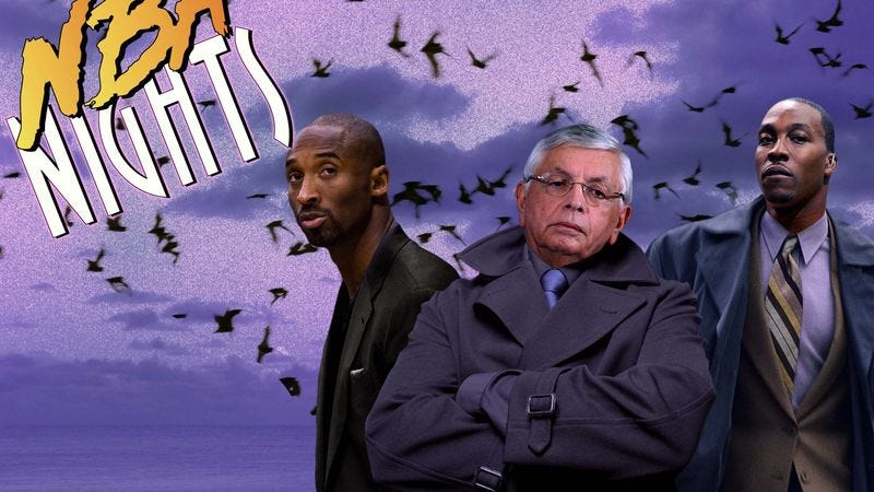Illustration for article titled NBA Announces Supernatural Investigation Spin-Off 'NBA Nights'
