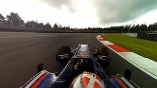 Illustration for article titled This Interactive 360-Degree Video Is the Closest You'll Ever Come to Driving an F1 Racer
