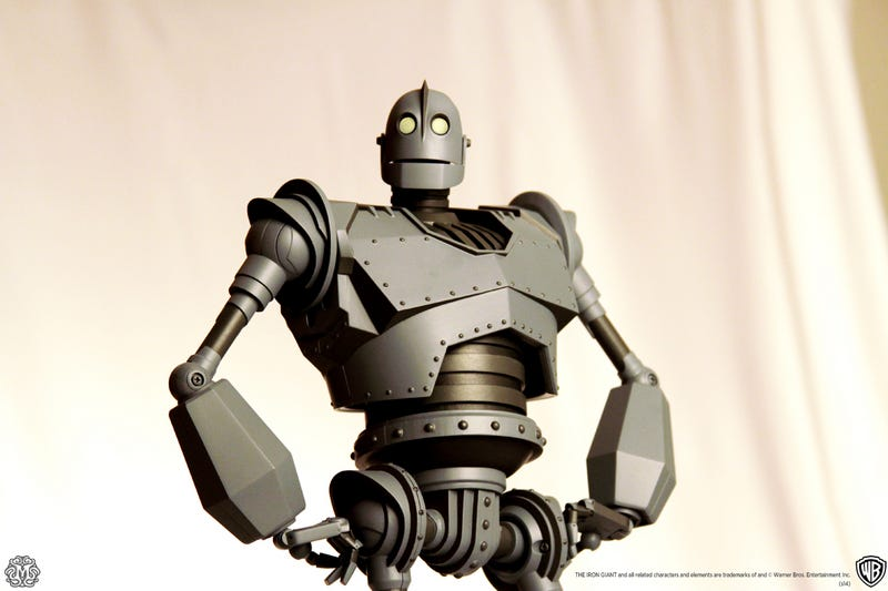 Illustration for article titled New High Quality Toy Line Will Start With The Iron Giant