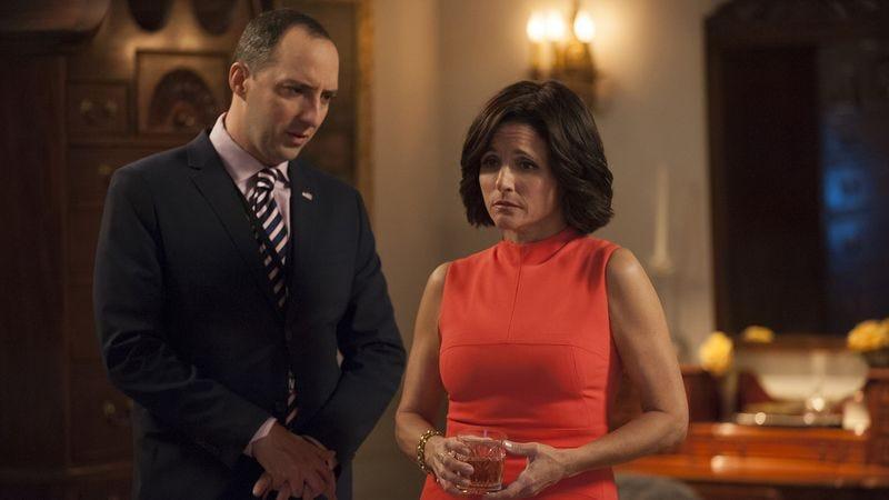 Tony Hale, Julia Louis-Dreyfus (HBO)