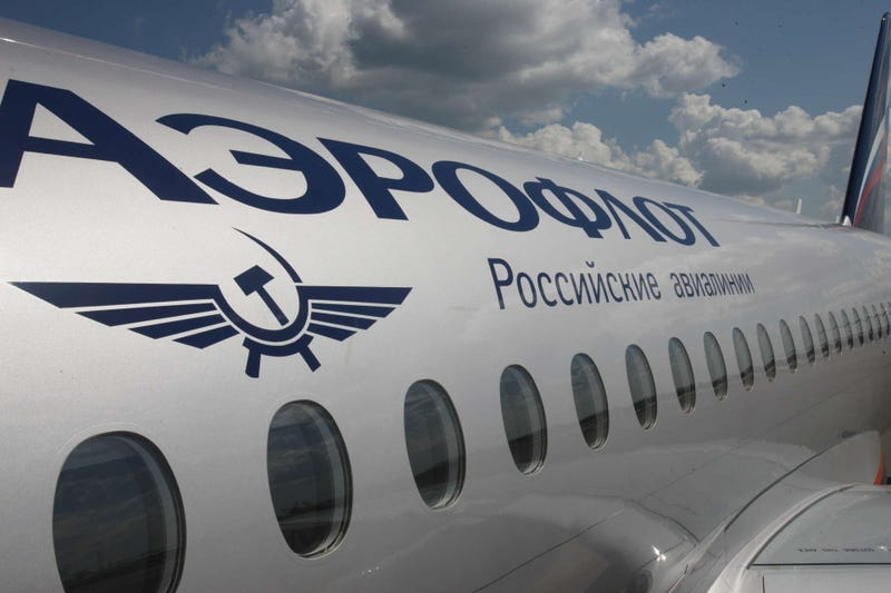 Illustration for article titled I've seen an Aeroflot plane recently and I have a question
