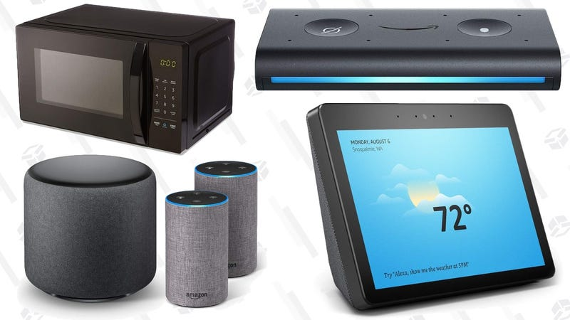 Illustration for article titled Amazon's Got a Bunch of New Alexa Toys, and You Can Order Them Now [Updating]