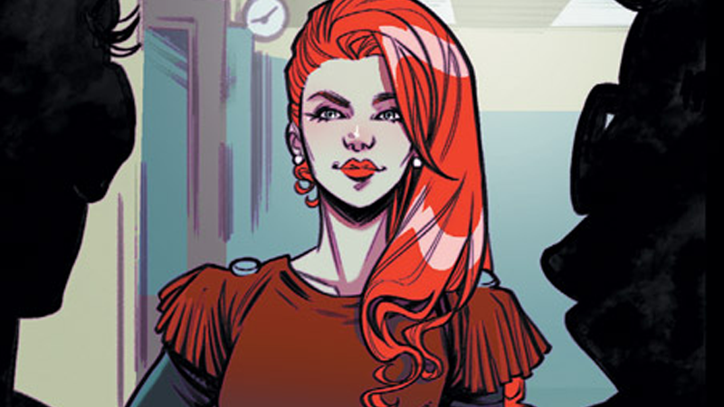 Cheryl rules the roost in Blossoms 666, and don't you forget it.