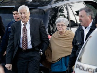 Jerry and Dottie Sandusky (Rob Carr/Getty Images)