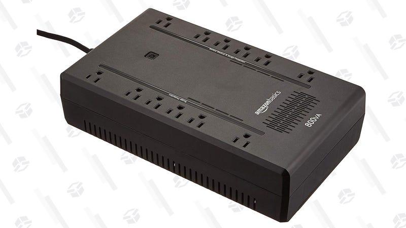 AmazonBasics Standby UPS 800VA 450W Surge Protector | $49 | Amazon