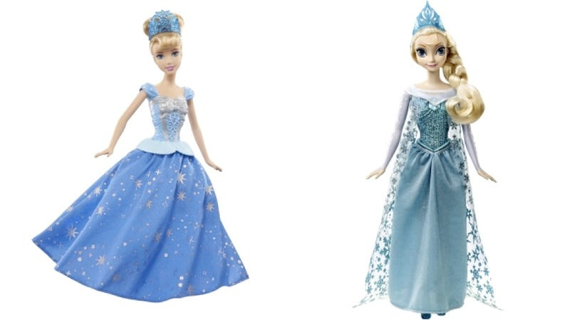 Inside the Mattel-Hasbro Corporate Brawl Over Who Gets to Make Disney Princess Dolls