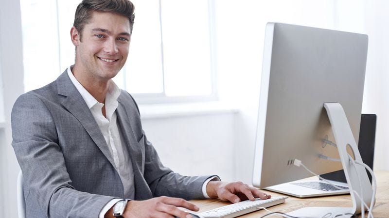 Illustration for article titled Man Excited To Look Like Different Type Of Idiot In Front Of Coworkers At Bar