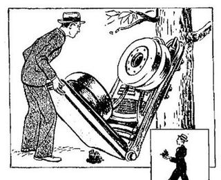 Illustration for article titled Everyman's Folding Auto (1939)