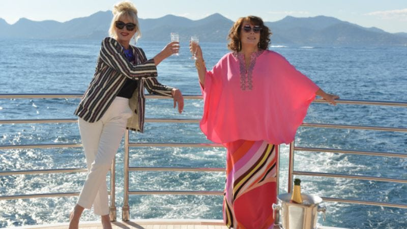 Illustration for article titled That Absolutely Fabulous movie is finally happening, here's evidence