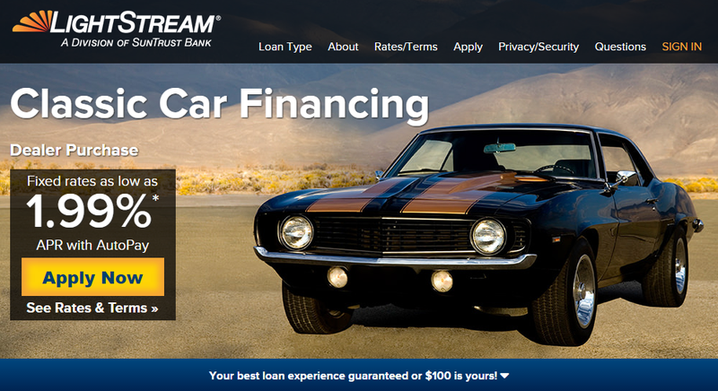 Well This Is Cool Unsecured Classic Car Financing - Classic car financing