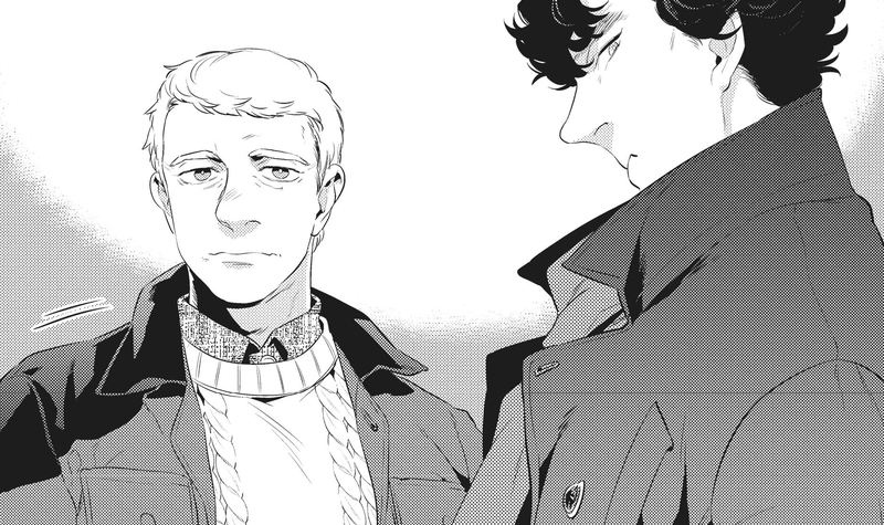 Illustration for article titled TheSherlock Manga Is Coming to America, and Here's Your First Look