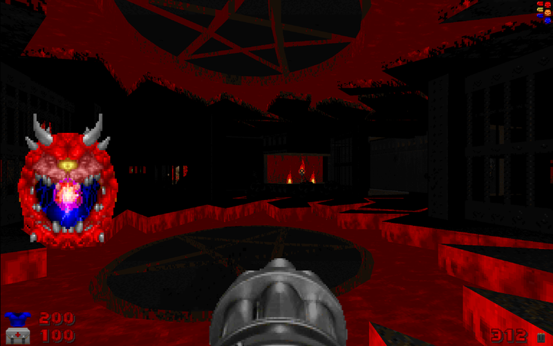 Illustration for article titled John Romero Made A New Doom Mod And It's Great