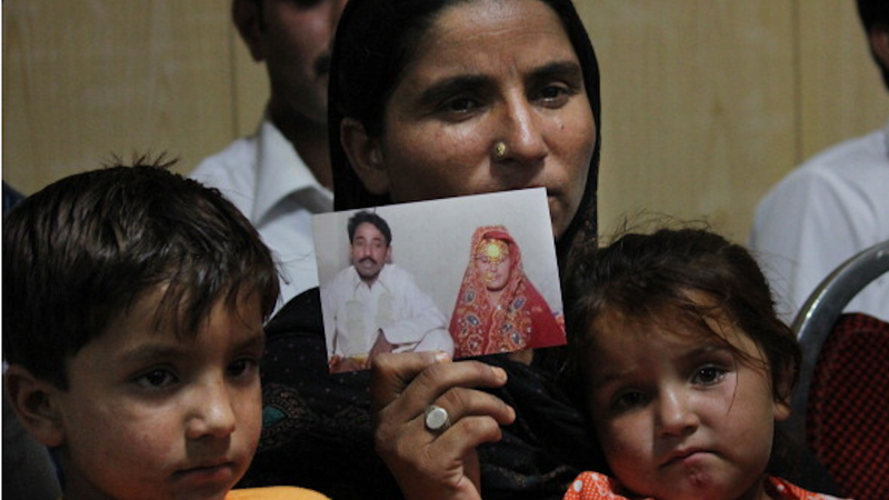 Illustration for article titled Husband Of Pakistani Woman Stoned to Death Murdered His First Wife