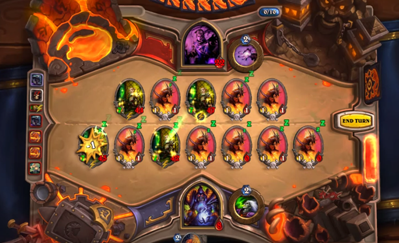 Illustration for article titled Combination Of Two Hearthstone Cards Results In 16-Minute-Long Turn
