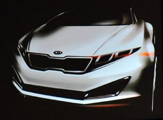 Illustration for article titled Kia Readying RWD Genesis-Based Sedan