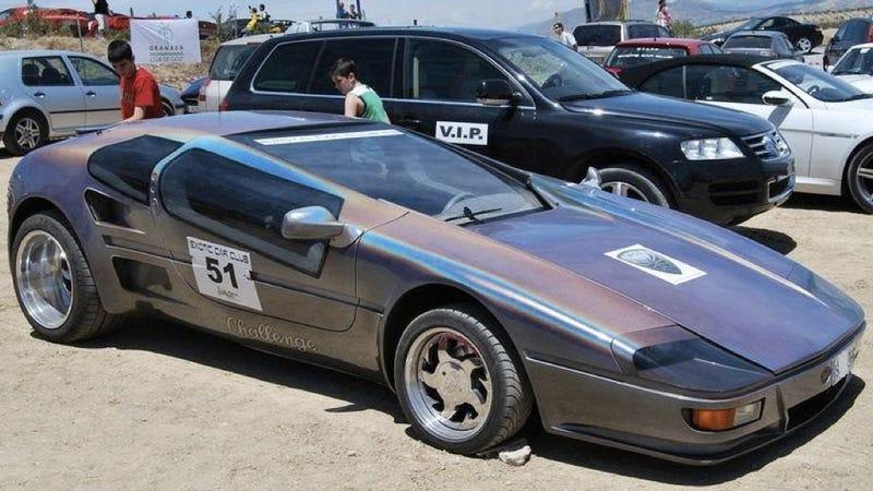 1988 Sbarro Challenge III - 12 photos - GTspirit