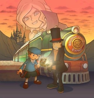Illustration for article titled Notebook Dump: Layton, Samurai Showdown, RE5 3D