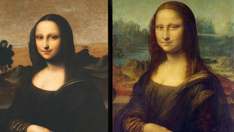 Illustration for article titled Could This 'Younger, Happier' Mona Lisa Be a Legit Da Vinci?