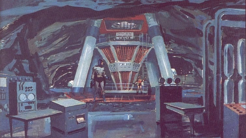 Illustration for article titled Just Look at This Gorgeous Concept Art for the 1966 Batman Show