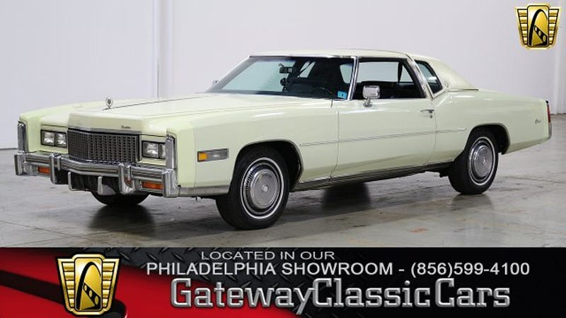 1976 Cadillac Fleetwood Eldorado; 60,000 miles, $13,000; Sadly, not the Bicentennial Edition