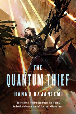 Illustration for article titled io9 Book Club reminder: Meeting to discuss Hannu Rajaniemi's The Quantum Thief on 6/28