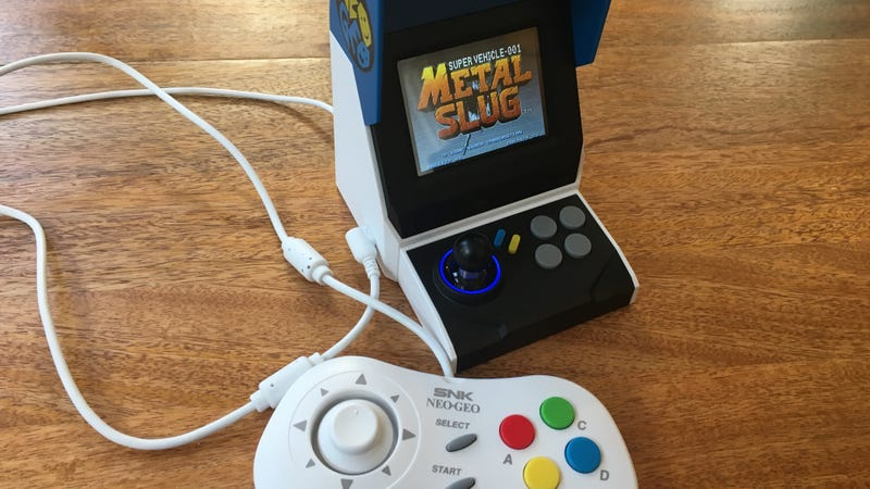 Neo Geo Mini + Two Controllers + HDMI Cable | $100 | Walmart