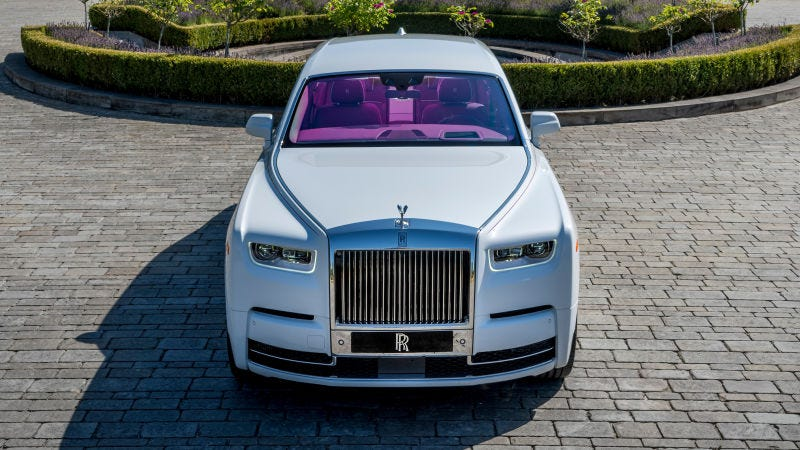 "El ""Phantom in Fuxia"". Foto: Rolls-Royce"