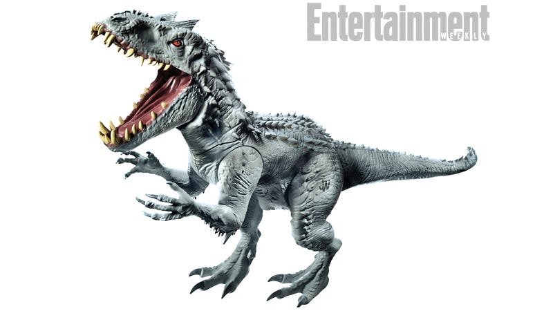 Illustration for article titled Here's What That New Super-Dinosaur From Jurassic World Looks Like