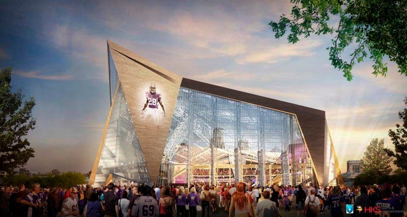 Illustration for article titled Vikings Decide They Need More Public Money For Their New Stadium