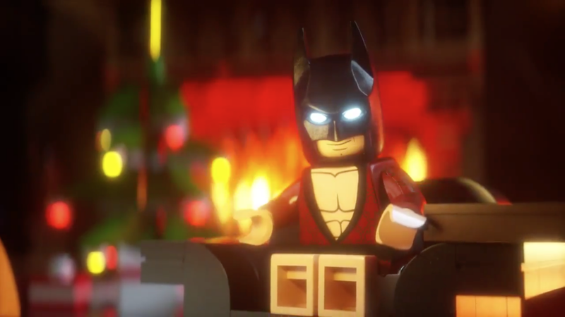 Illustration for article titled Come On, LEGO Batman, Read Us the Whole The Night Before Christmas