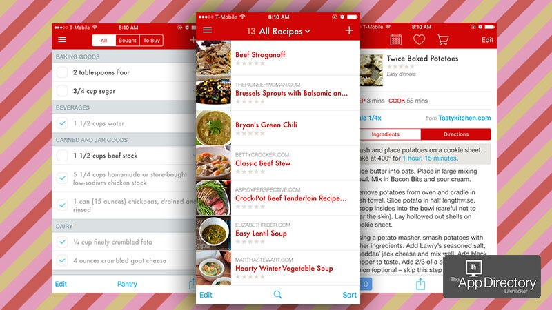 The best recipe manager for iphone managing a vast collection of recipes used to be as simple as pulling out a box of index cards now things are a little smarter but that also means theyre forumfinder Images