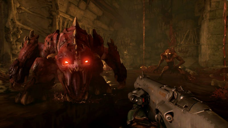 Screenshot: Doom for Nintendo Switch/Bethesda Softworks