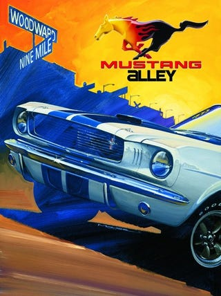 Illustration for article titled Woodward/Mustang Alley 2018