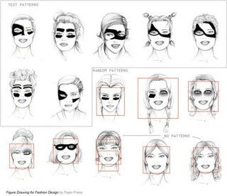 Illustration for article titled Designer Reverse-Engineers Face-Detection Tech to Develop Camouflage Makeup