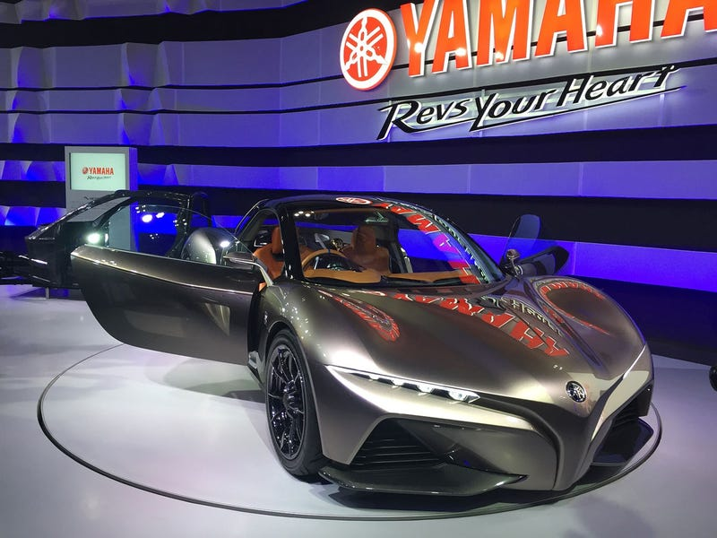 Illustration for article titled Yamaha Sports Ride concept