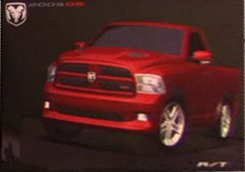 Illustration for article titled 2009 Dodge Ram R/T Accidentally Revealed By Dodge