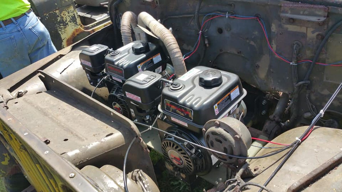 This Wrenching Genius Installed Lawnmower Engines Into His