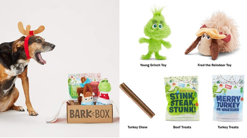 Limited Edition Grinch BarkBox | $25 | Amazon