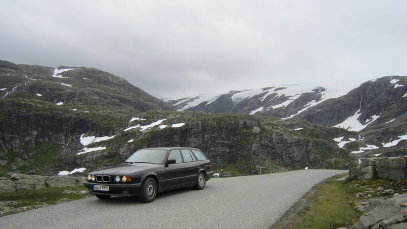 Illustration for article titled E34 520i Touring The North - An Exhaustive Review