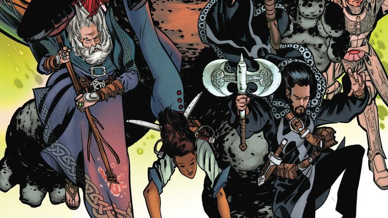 Illustration for article titled Doctor Strange musters his mystical allies in this Sorcerers Supreme #2 exclusive