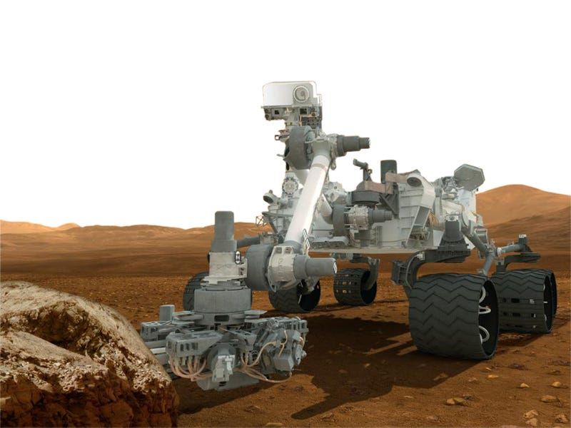 Illustration for article titled Mars Rover's Discoveries