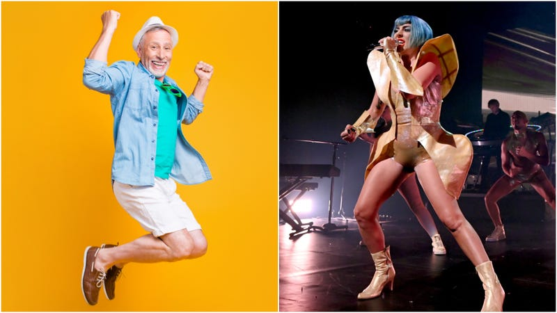 Illustration for article titled Witness pure, unmitigated joy as this grandpa finds out he's going to see Lady Gaga