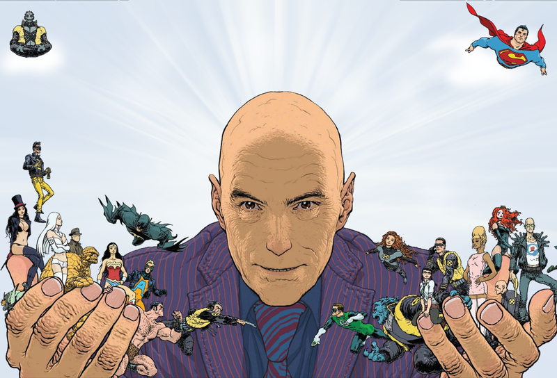 Illustration for article titled No Pressure, but Grant Morrison Comics are 75% Off on Comixology for One More Day.