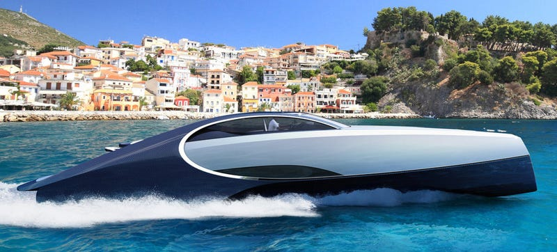 Illustration for article titled I'm Too Poor For The Bugatti Chiron Yacht