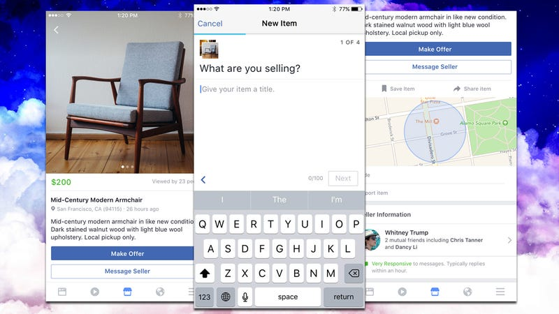 facebook marketplace lets you buy from and sell to people nearby. Black Bedroom Furniture Sets. Home Design Ideas