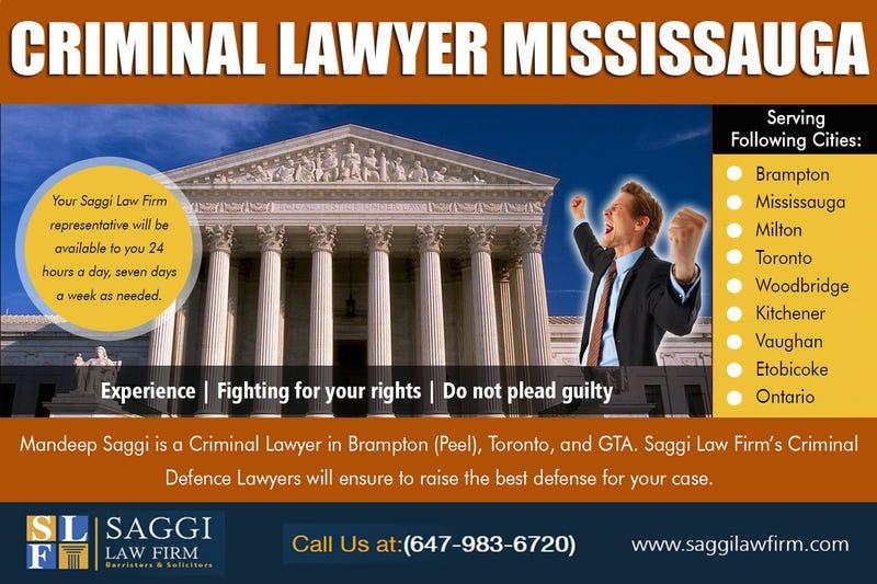 Illustration for article titled Criminal Lawyer Mississauga
