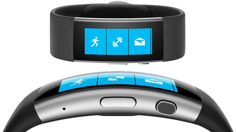 Illustration for article titled The New Microsoft Band Gets Smarter Guts and a Curved Display
