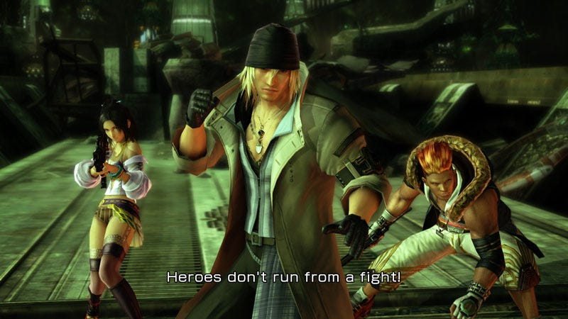 Illustration for article titled New Final Fantasy XIII Screens Let You Compare Xbox 360, PS3