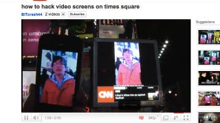 Illustration for article titled The Times Square Screen Hijacking Clip Was Just the Product of a New Viral Video Factory