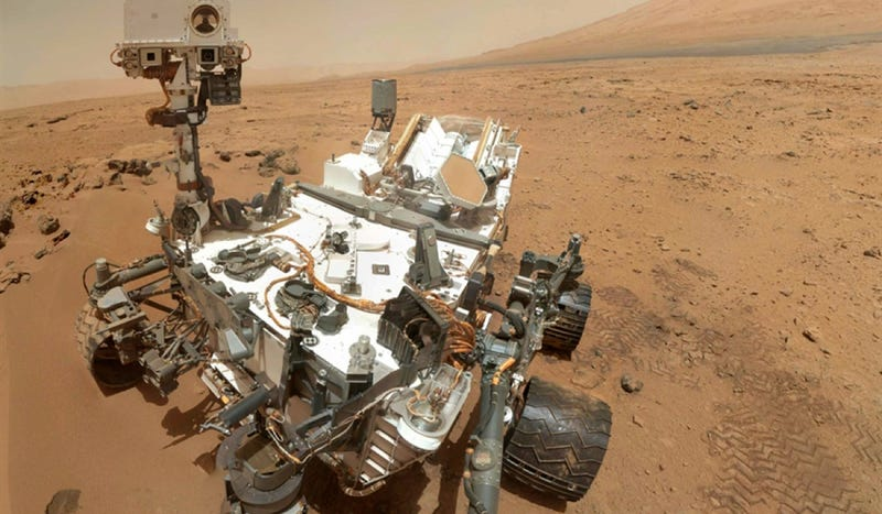 Illustration for article titled How The Mars Curiosity Rover Became Science Fiction